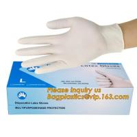 Wholesale Powder-free non-sterile 100% natural rubber latex examination gloves /gloves latex medical consumables bagease bagplasti from china suppliers