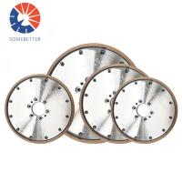 China China factory 9 inch Abrasive  Electroplated Diamond/Cbn Grinding Cutting Wheel For Grinding Carbide on sale