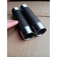 Wholesale Black Seamless steel pipe Nipples SCH40,SCH80 from china suppliers