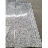 Wholesale Cheapest Chinese Pearl White Grey granite Stair ,White Granite tiles,Step&Riser,Slab on sales from china suppliers