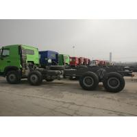 Wholesale 8*4 Sinotruk HOWO Heavy Dump Truck Chassis 371HP 9.726L Displacement from china suppliers