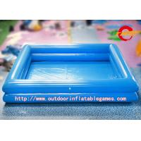 9mm pvc tarpaulin deep blue inflatable swimming pool from wholesalers