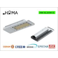 Buy cheap China SMD led street light 90W with Osram chips, meanwell driver,pure aluminum heat sink from Wholesalers