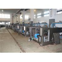 China PLC Touch Screen Screen Printing Press , Screen Printing Equipment 700mm Pile Height on sale