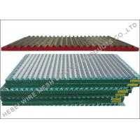 Buy cheap SS304 / SS316 Material Shale Shaker Screen , Double / Triple Deck Vibrating Screen from wholesalers