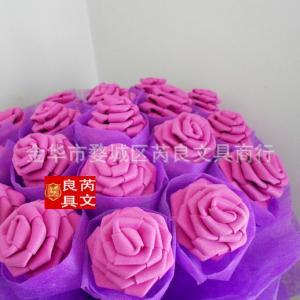 Personalized Waterproof Foam Sheets , Paper Flowers Diy Upholstery Eva Foam Flowers