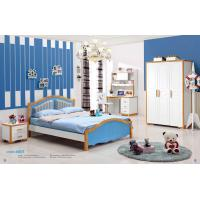 Mediterranean Style Latest Wooden Bed Designs Kids Bedroom