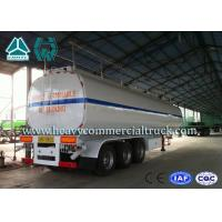 Wholesale 54 m3 High Performance road tank semi trailer  For Oil Carrying 55 Tons - 75 Tons from china suppliers
