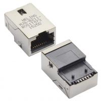 Wholesale Magnetic Modular Jacks, RJ45, sinking plate SMT type, tab-up, shielded, optional LED from china suppliers