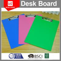 Wholesale China professional factory OEM office stationery Metal PP plastic clip board from china suppliers