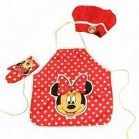 Wholesale Kid's Apron, Measures 47x50cm from china suppliers