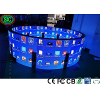 Wholesale P2 P4 SMD2121 1000nits Curved Flexible Led Display 1R1G1B from china suppliers
