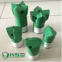 Wholesale 7 / 11 / 12 Degree Taper Chisel Drill Bit for Small Hole Rock Drilling Tools from china suppliers