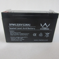Wholesale EPS UPS Carbon Lead Acid Battery 6v12ah Agm Leakproof from china suppliers