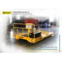Wholesale Heavy Flat Rail Industrial Transfer Trolley / Material Handling Equipment from china suppliers