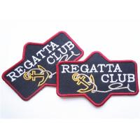 Wholesale Popular jeans leather patch labels for clothing Custom Embroidery Patches from china suppliers