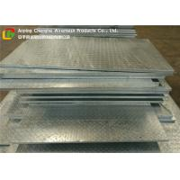Wholesale 3mm Chequer Plate Heavy Duty Floor Grates , Stainless Steel Bar Grating High Strength from china suppliers