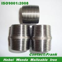 Buy cheap Seamless steel pipe Nipples SCH40 NPT thread from wholesalers