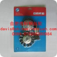 3pcs cup knot wire brush with shank