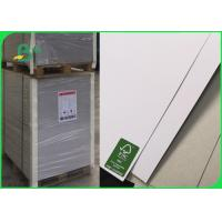Wholesale Single Side Coated White Duplex Board With Grey Back Hard Stiffness 200 - 450gsm from china suppliers