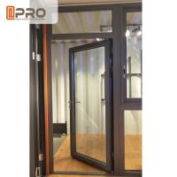 Wholesale Customized Design Aluminium Hinged Doors For Construction Buildings from china suppliers