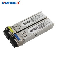 Wholesale SM Bidi LC 1.25G SFP Transceiver 20km 1310nm 1550nm With DDM from china suppliers