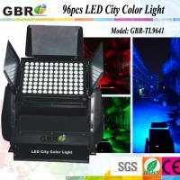 Buy cheap 96x10W DMX512 RGBW 4 in 1  LED City Color Outdoor Waterproof IP65 Stage Lighting from Wholesalers