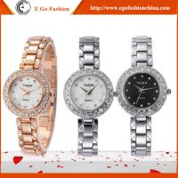 YQ07 Rose Gold Silver Watch Stainless Steel Band Watches Girls Female Bracelet Watch Dress