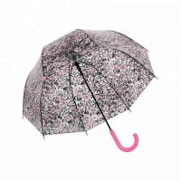 Wholesale Mushroom Floral Victoria Clear Full Cover Umbrella Transparent Eco POE from china suppliers