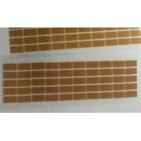 China Brown Die Cut Adhesive Tape Single Sided Polyimide / PET Material on sale