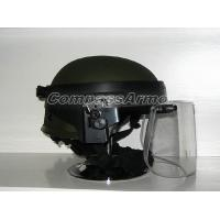 Buy cheap Tactical Ballistic Protection Helmet with Face Shield Threat for Protection 0. 14 sq. M from Wholesalers