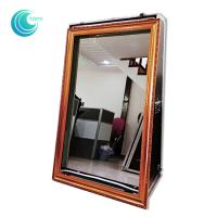 Wholesale Touch screen mirror touch screen booth 55inch magic mirror selfie booth case from china suppliers
