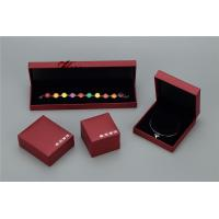 Buy cheap Plastic Struction  Jewelry Display Box Set In Recycled Leatherette Paper from wholesalers