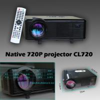 Original Cl720 Led Projector 3000 Lumens 1280 X 800: CL720 720p 1080p Projector Native 1280*800 3000lumens 2000