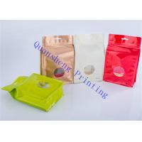 China Resealable PET / PE Packaging Bags For Green Tea / Herbal Tea / Black Tea on sale