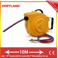 Buy cheap Auto Rewind Wall Swivel Mounted Retractableair hose reel GQ100E 8*12mm(Water from wholesalers