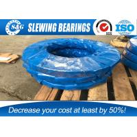 Buy cheap OME 52Mn 42CrMo Single Row Ball Excavator Slewing Bearing , ABEC-1 Standard from wholesalers