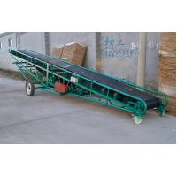 Soil belt conveyor with  large conveying capacity for loading and unloading