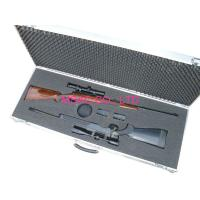 Wholesale MS - Gun - 12 Aluminum Gun Case Size L1200 X W250 X H75mm For Carry Rifle from china suppliers