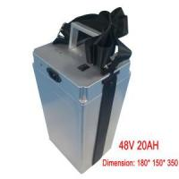 Wholesale Electric Bike Lithium 48V 20ah Battery Pack, with BMS from china suppliers