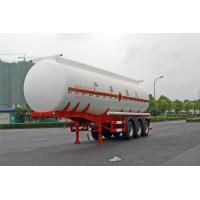 Gooseneck Type Oil Tank Trailer 3x13T Fuwa Axle 28600L For Petroleum / Gasoline