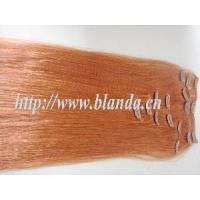 China Red Color 2012American Clip Hair for Hair Extentions (EM048) on sale