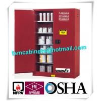 Wholesale Vertical Combustible Paint Storage Cabinets With Adjustable Horizontal Shelves from china suppliers