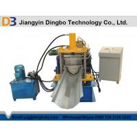 Wholesale Customized Industrial Gutter Roll Forming Machine With 3kw Hydraulic Cutting from china suppliers