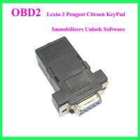 Wholesale Lexia-3 Peugeot Citroen KeyPad Immobilizers Unlock Software from china suppliers