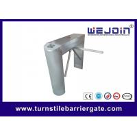 Security gate finger print read baffle gate for metro tripod turnstile for access control system