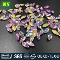 Wholesale Large Sewable Rhinestones , Colorful Sew On Beads And Crystals Various Size from china suppliers