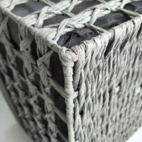 Wholesale Handmade Collapsible Caster Sustainable Wire Basket With Wheels from china suppliers