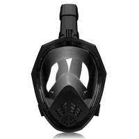 Buy cheap Anti Fog Diving Full Face Mask Breathable Snorkel with Adjustable Head Straps from wholesalers