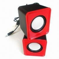 Wholesale Coloful USB Mini Speaker Wok with Laptop, PC, MP3, MP4, Apple's iPhone and iPod from china suppliers